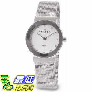 [105美國直購] Skagen Women's 女士手錶 Classic 358SSSD Silver Stainless-Steel Quartz Watch