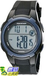 [105美國直購] Timex Mens T5K820M6 Marathon Digital Watch With Black Resin Band
