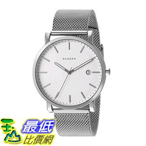 [美國直購] Skagen Men's 男士手錶 SKW6281 Hagen Stainless Steel Mesh Watch