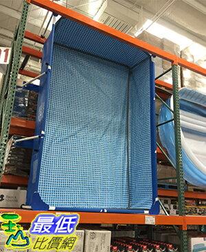 [106限時限量促銷] COSCO INTEX RECTANGULAR POOL 金屬支架方形泳池 含泳池遮罩及過濾器幫浦 C112841