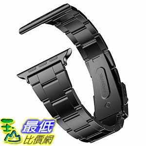 [美國直購] JETech 2106-Watch-Band-42-STEEL Apple Watch 42mm 專用 不鏽鋼錶帶 - 黑色
