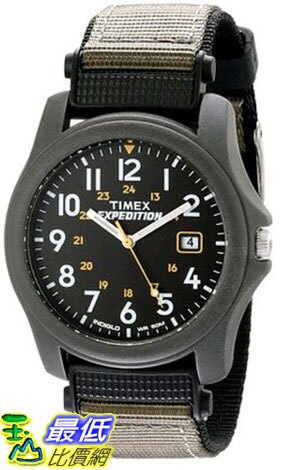 [105美國直購] Timex? Mens Camper EXPEDITION? Classic Analog Watch #T42571
