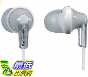 [105美國直購] Panasonic ErgoFit Best in Class In-Ear Earbud Headphones RP-HJE120-S 耳機 銀