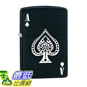 [美國直購] Zippo Lighter: Ace of Spades - Black Matte 打火機