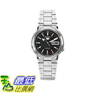 [美國直購] 男士手錶 Seiko Men's SNXE99K Stainless Steel Black Dial Watch