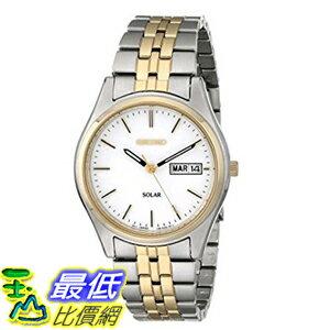 [美國直購] Seiko Men's 男士手錶 SNE032 Two-Tone Stainless Steel Solar Watch