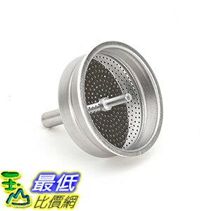 [106美國直購] Bialetti 06995 (2杯用) 摩卡壺 耗材替換漏斗 Mukka Express Funnel Filter