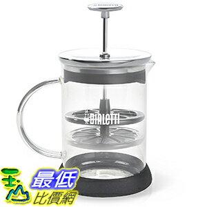 106美國直購  Bialetti 6703 打奶泡杯 Manual Glass Mil