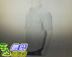 [COSCO代購 如果沒搶到鄭重道歉] Nautica 男純棉短袖格紋襯衫 白/紅/藍 W112335