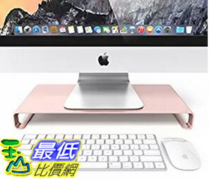 [106美國直購] Satechi B01A05DFVU 玫瑰金電腦架筆電架 Aluminum Unibody Monitor/Laptop/iMac/PC Stand