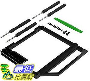 [106美國直購] Sabrent BK-HDCT Data Doubler Optical Bay to Hard Drive/SSD Caddy Tray Adapter 適用MacBook/Pr..