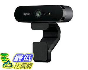 [106美國直購] Logitech 960-001105 網路攝影機 Brio 4K Ultra HD Webcam