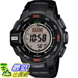 [106美國直購] Casio Protrek Men's Solar Power Watch 男士手錶