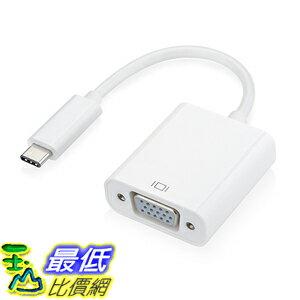 [105美國直購] VicTsing USB-C Type C USB 3.1 Male to VGA Adapter Cable(VS-CL29W-1)