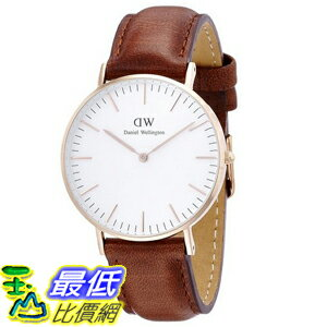 [105美國直購] Daniel Wellington 0507DW Classic St. Mawes Stainless Steel Watch 女士手錶