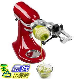 [美國直購] KitchenAid KSM1APC Spiralizer Attachment with Peel, Core and Slice 攪拌機 配件