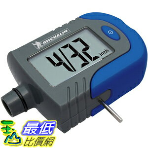 [美國直購] Michelin 米其林 MN-4203B 胎壓計 (含胎紋檢測) Digital Tire Gauge with Tread Depth Indicator