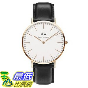 [105美國直購] Daniel Wellington 0107DW Classic Sheffield Watch 男士手錶