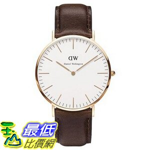 [105美國直購] Daniel Wellington 0109DW Classic Bristol Stainless Steel Watch 男士手錶