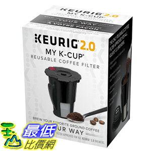 [105美國直購] Keurig 119076 2.0 My K-Cup Coffee Filter, Small, Black 咖啡杯 濾杯