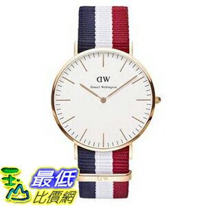 [105美國直購] Daniel Wellington 0103DW Classic Cambridge Watch 男士手錶