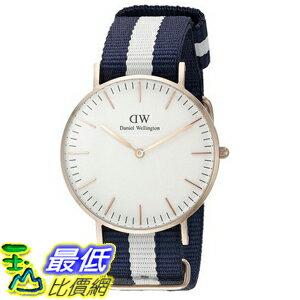 [105美國直購] Daniel Wellington 0503DW Glasgow Stainless Steel Watch 女士手錶