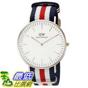 [105美國直購] Daniel Wellington 0102DW Canterbury Round Watch 男士手錶