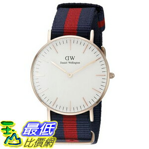 [105美國直購] Daniel Wellington 0501DW Oxford Analog Display Quartz Multi-Color Watch 女士手錶
