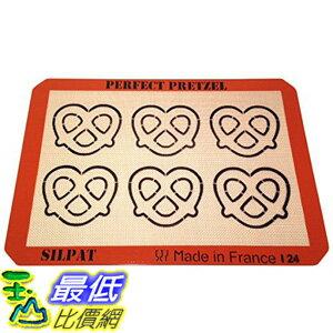 [美國直購] Silpat AE420295-21 蝴蝶脆餅烤墊 矽膠墊 烘培 烤箱 Perfect Pretzel Baking Sheet