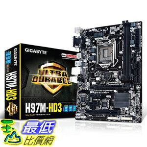 [105美國直購] GA-H97M-HD3 S1150 H97 MATX 主機板