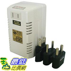 [東京直購]日章工業降壓器(型號KNP-155)110~130V220~240V降至100V1500W