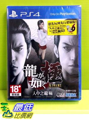 (現金價) PS4 人中之龍 極 中文版含特點