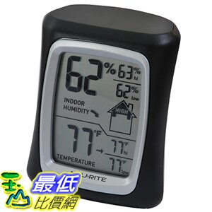[美國直購] AcuRite B004K8RF10 黑藍紅三色 溫濕度計 Home Comfort Monitor