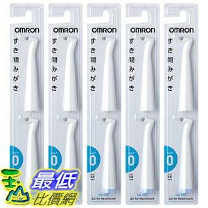 [東京直購] OMRON SB-090-5P (HT-B201適用) 音波式電動牙刷 齒縫型替換刷頭 10入組