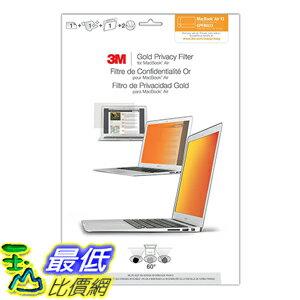[美國直購] 3M GPFMA13 金色 25*37cm 螢幕防窺片 Apple MacBook Air 13吋