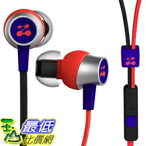 [美國直購] Zipbuds 紅/紫 B0131U139W Slide Sport Earbuds 入耳式 耳機 with Mic