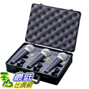 [美國直購] Samson R21 動圈式 麥克風 3入 Dynamic Vocal Microphone with Case