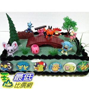 [美國直購] 神奇寶貝 精靈寶可夢周邊 Pokemon B01A8R3DEE 18 Piece Birthday Cake Topper Set Featuring 8 RANDOM Pokemon Character Figures
