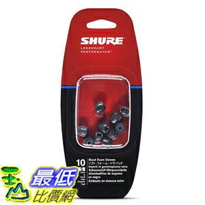 [美國直購] Shure EABKF1-10S Small Foam Sleeves (10 Included/5 Pair) for E3c, E4c, E5c, E500PTH 耳塞 耳機頭