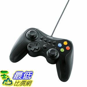 [東京直購] ELECOM JC-U3613MBK 手把 搖桿 USB連接頭 Xinput/DirectInput Xbox 12鍵 振動/連射