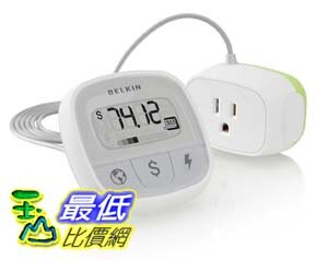 [美國直購] Belkin (F7C005Q) dollars CO2 watts 能源偵測器 Conserve Insight Energy Use Monitor