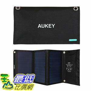 [東京直購] AUKEY PB-P4 21W 太陽能 USB port 手機 太陽能充電器 可折疊 適用5V裝置 iPhone/iPad/Galaxy
