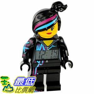 [美國直購] LEGO Kids 9009969 人偶鬧鐘 溫斯黛 Wyldstyle Minifigure Alarm Clock