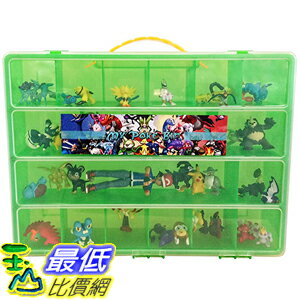[美國直購] 神奇寶貝 精靈寶可夢周邊 Pokemon TM Compatible Organizer - My Poke Bin Is The Perfect Pokemon Figure Comp..