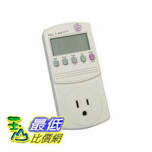 [美國直購] P3 P4400 Kill A Watt Electricity Usage Monitor 能源偵測器(_TB225)