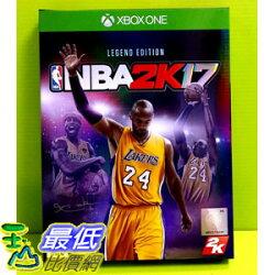 (現金價) XBOX ONE 美國職業籃球 NBA 2K17 傳奇珍藏版 中文版 (實體版)