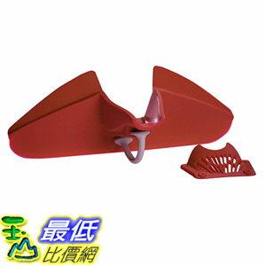 [美國直購] Silpoura 快拆式漏斗 鍋邊神器 Clip On Single Red Silicone Pouring Spout
