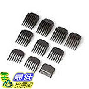 [美國直購] Wahl 043917317359 理髮器替換頭 替換工具 Hair Clipper Guide Comb Set (10 pieces)