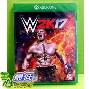 (現金價)  Xbox One WWE 2K17 激爆職業摔角 17 亞版英文版