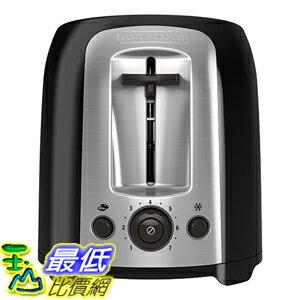 [美國直購] BLACK+DECKER TR1278B 烤麵包機 烤土司機 2-Slice Toaster, Black